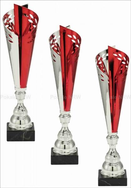 3er Serie Edel-Pokale X201-3 inkl. Gravur