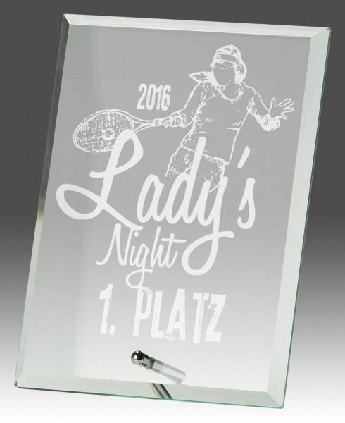 Glasständer B318 inkl. Lasergravur