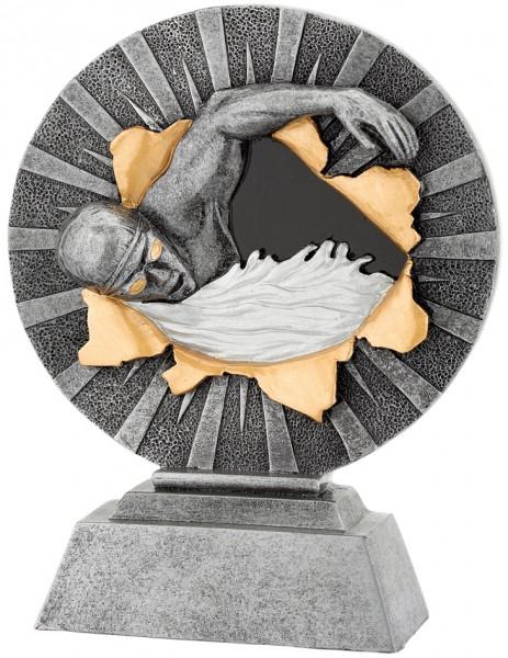 Schwimmen-Trophy in 3D Optik inkl. Gravur