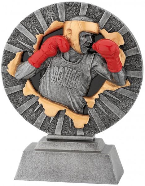 Boxen-Trophy in 3D Optik inkl. Gravur