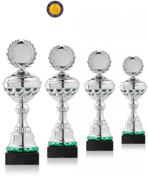 4er-Serie Pokale NRW Line P10-GR-S inkl. Gravur und Emblem
