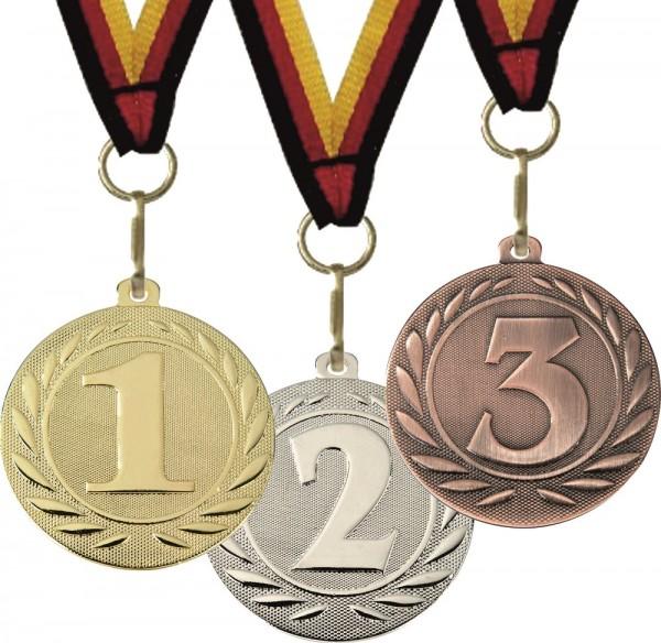 Medaille DI5000D inkl. Band und Beschriftung