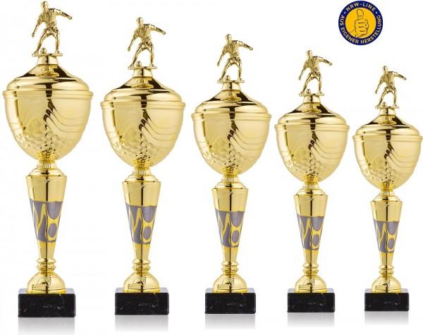 5er-Serie Fußball Pokale NRW Line Biggi-GL inkl. Gravur