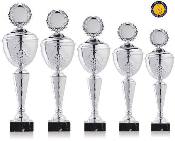 5er-Serie Pokale NRW Line Biggi-Si. inkl. Gravur und Emblem