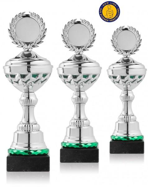 3er-Serie Pokale NRW Line P10-GR-S inkl. Gravur und Emblem