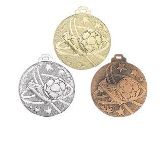 Fußball-Medaille NG11 inkl. Band und Beschriftung