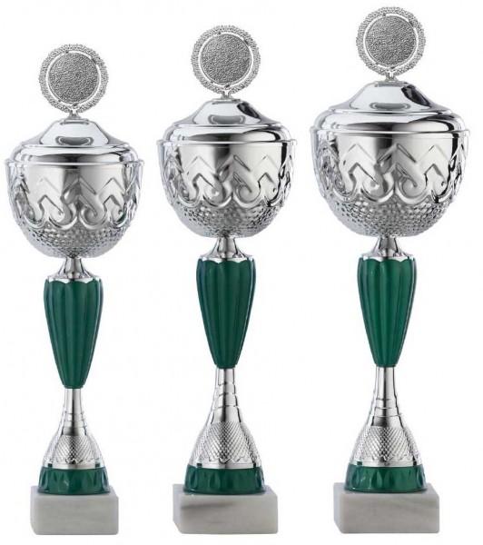 3er-Serie Pokale A4016 inkl. Gravur und Emblem