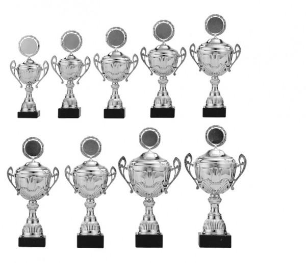 9er-Serie Pokale A4006 inkl. Gravur und Emblem