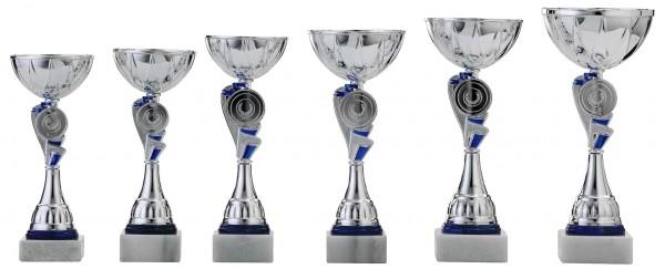 6er-Serie Pokale A4010 inkl. Gravur und Emblem