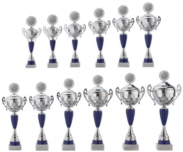 12er-Serie Pokale A4017 inkl. Gravur und Emblem