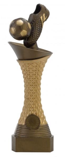 Fußball-Pokal Schuh mit Ball C164 inkl. Gravur