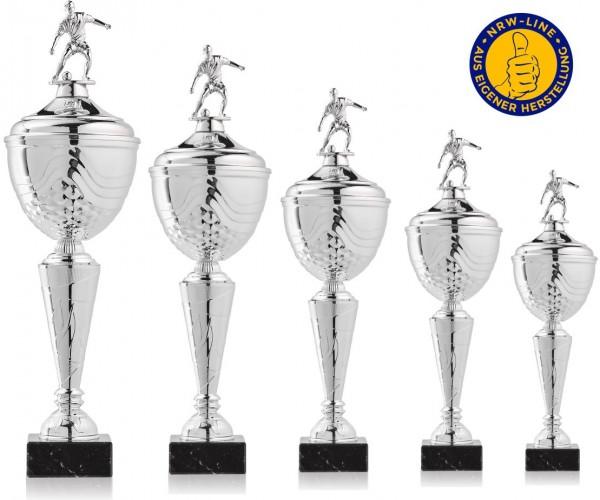 5er-Serie Fußball Pokale NRW Line Biggi-Si. inkl. Gravur