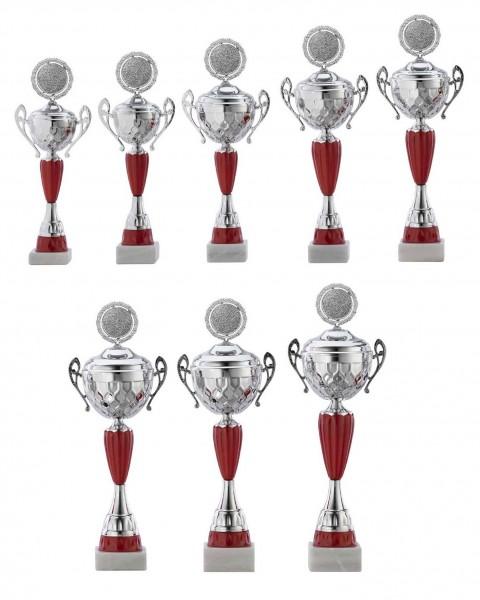 8er-Serie Pokale A4012 inkl. Gravur und Emblem