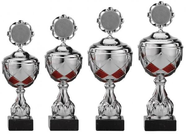 4er-Serie Pokale A4003 inkl. Gravur und Emblem