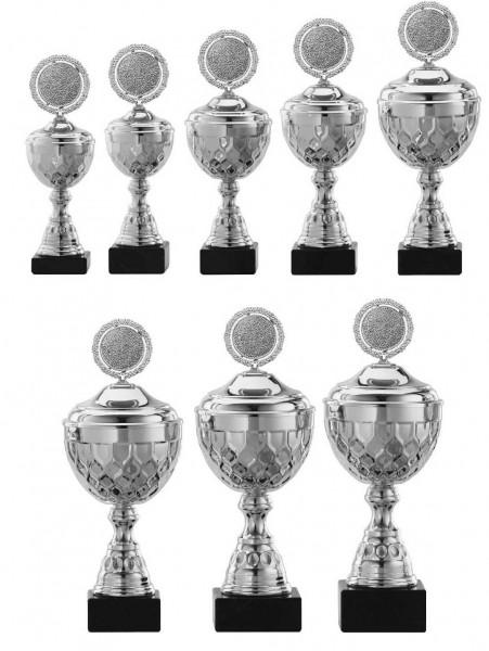 8er-Serie Pokale A4015 inkl. Gravur und Emblem