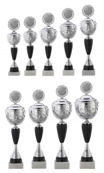 9er-Serie Pokale A4014 inkl. Gravur und Emblem
