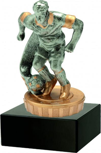 Trophäe Fußballer 3D inkl. Beschriftung