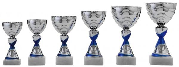 6er-Serie Pokale A1062 inkl. Gravur und Emblem