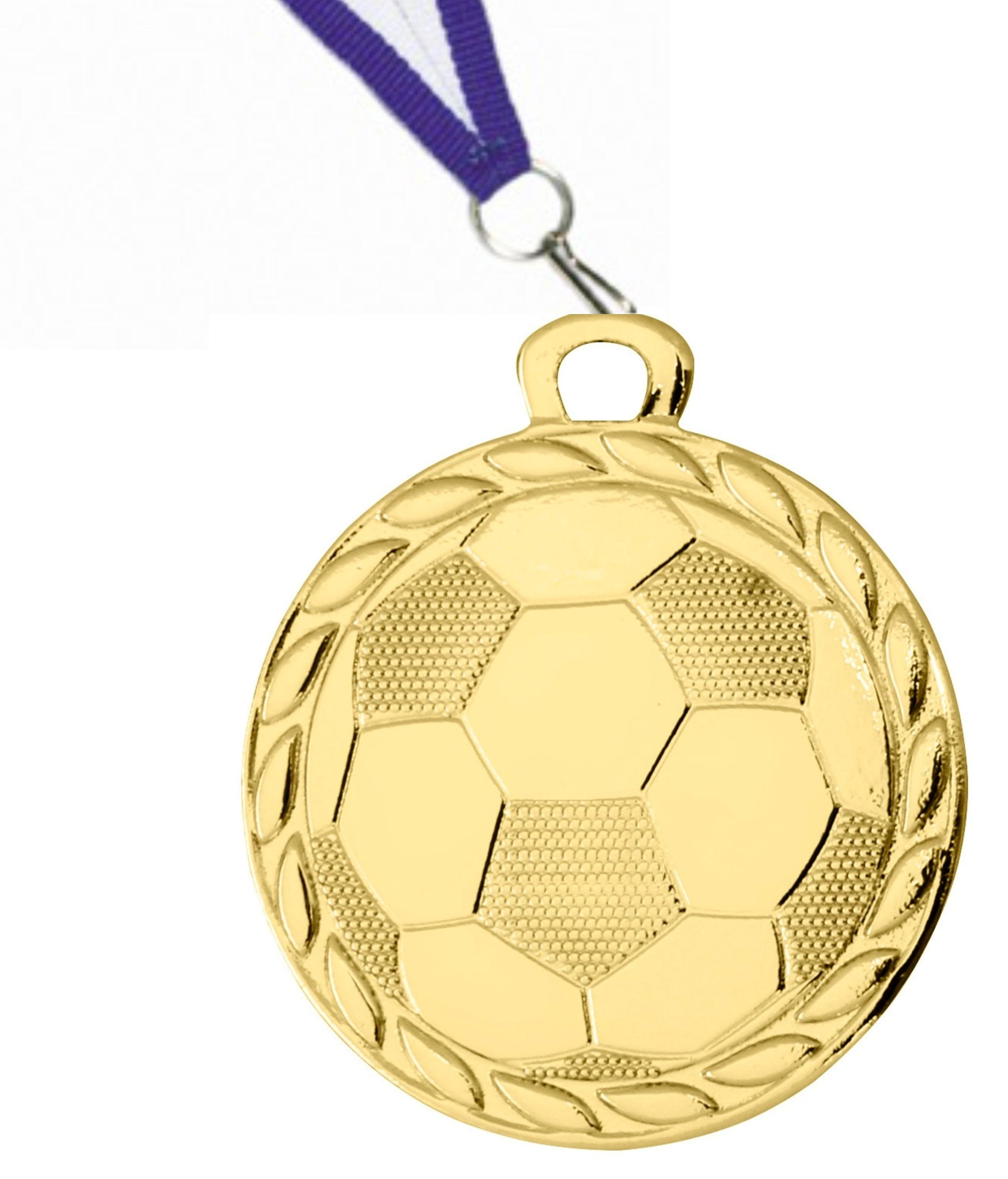 D4A Pokale & Preise 10 Fußball-Medaillen mit Deutschland-Bändern