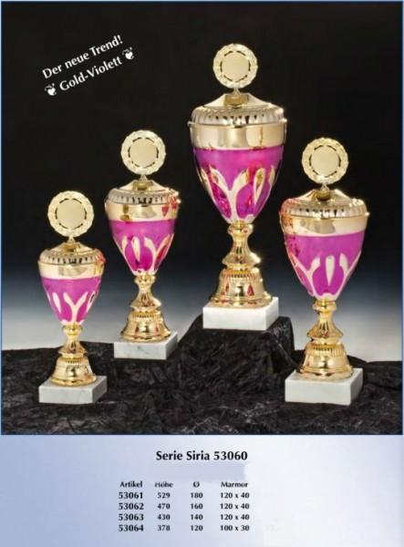 Pokal Siria inkl. Gravur und Emblem
