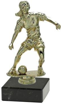 "Fußballfigur ""Spielerin"" 11 cm inkl. Beschriftung"