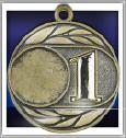 Medaille D26-G inkl. inkl. Beschriftung,Emblem und Band