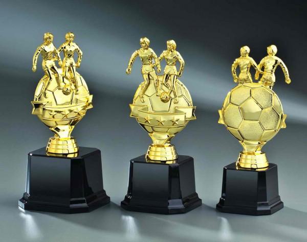 Fußball-Pokal-Frau inkl. Gravur
