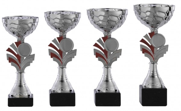 4er-Serie Pokale A1087 inkl. Gravur und Emblem