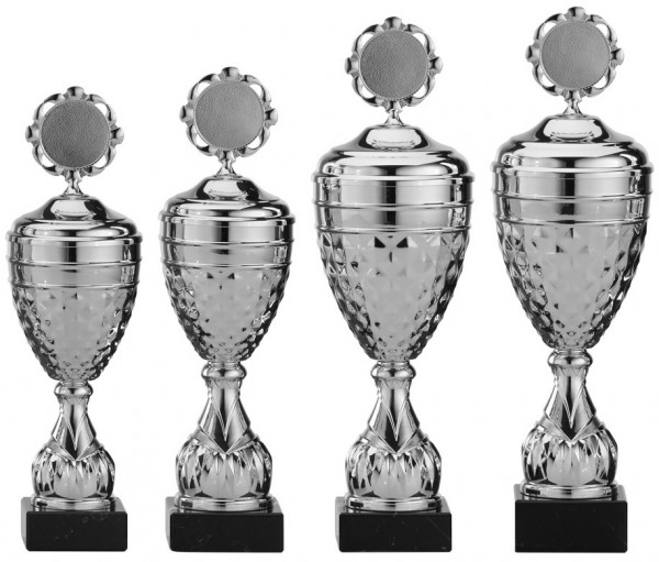 4er-Serie Pokale A4005 inkl. Gravur und Emblem