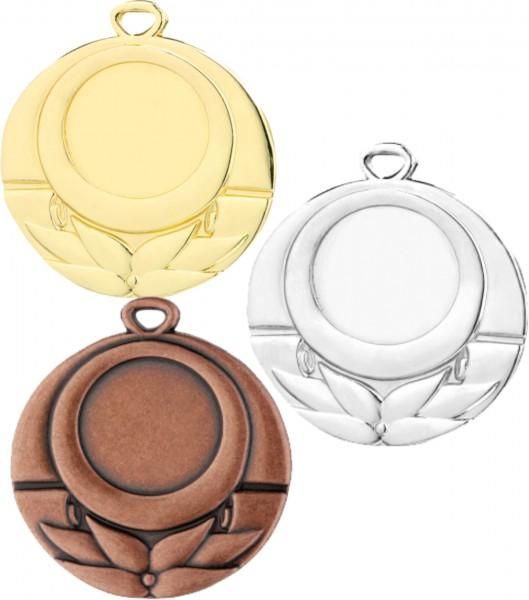 Medaille D28E inkl. inkl. Beschriftung,Emblem und Band