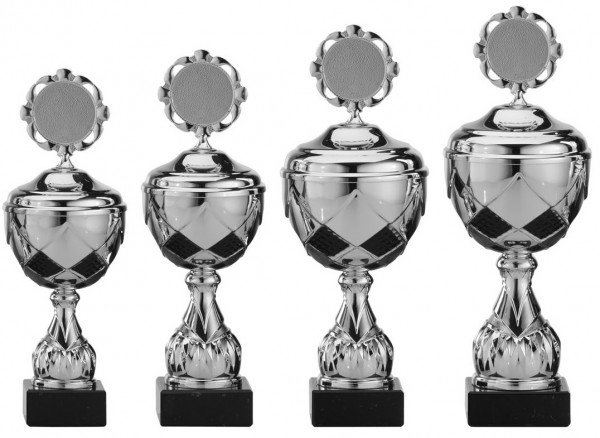 4er-Serie Pokale A4000 inkl. Gravur und Emblem