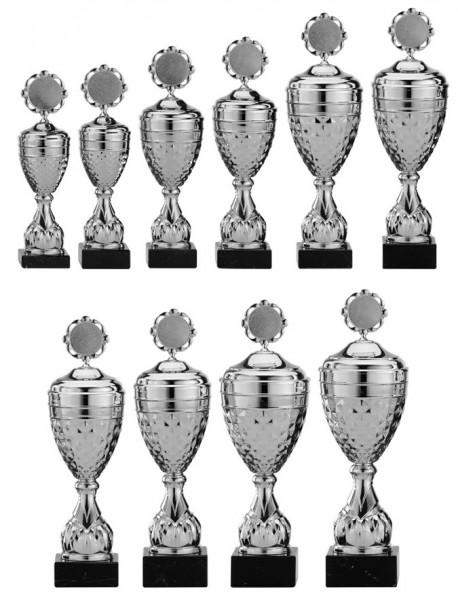 10er-Serie Pokale A4005 inkl. Gravur und Emblem