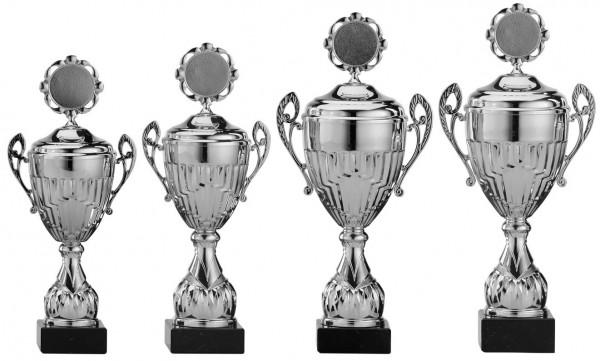 4er-Serie Pokale A4002 inkl. Gravur und Emblem