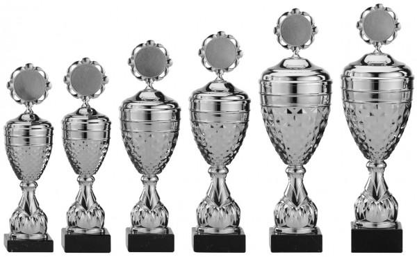 6er-Serie Pokale A4005 inkl. Gravur und Emblem