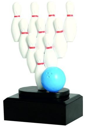 Trophäe Bowling RFST2037 inkl.Gravur