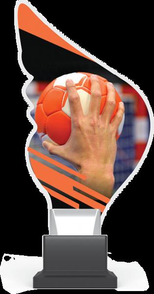 Acryltrophäe Handball inkl. Gravur