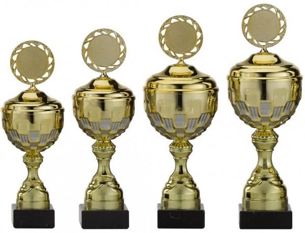 4er-Serie Pokale A4004 inkl. Gravur und Emblem