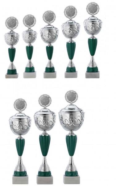 8er-Serie Pokale A4016 inkl. Gravur und Emblem