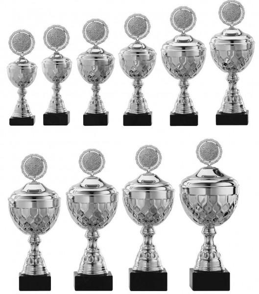 10er-Serie Pokale A4015 inkl. Gravur und Emblem
