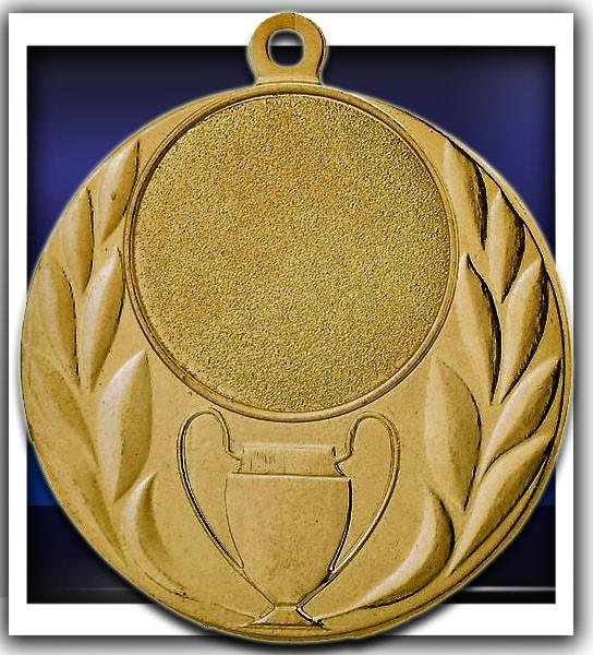 Medaille D23C inkl. inkl. Beschriftung,Emblem und Band