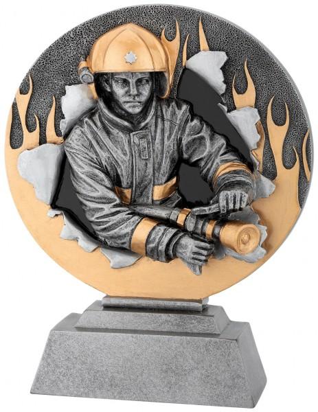 Feuerwehr-Trophy in 3D Optik inkl. Gravur