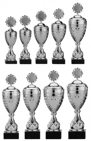 9er-Serie Pokale A4005 inkl. Gravur und Emblem