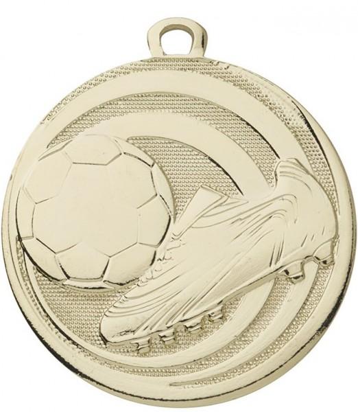 Fußball-Medaille D273 inkl. Band und Beschriftung