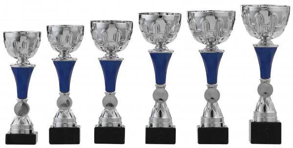 6er-Serie Pokale A1028 inkl. Gravur und Emblem
