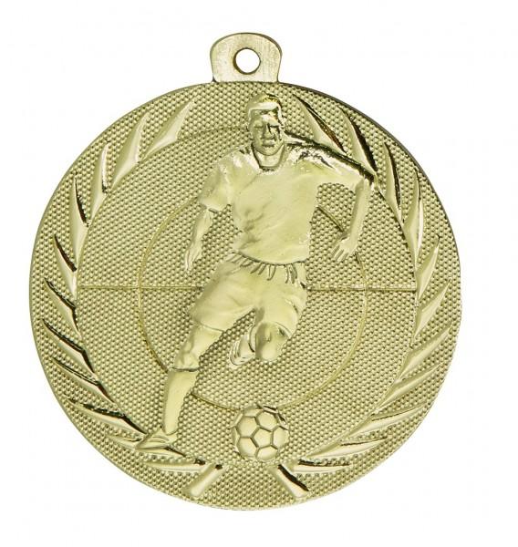 Fußball-Medaille ME75 inkl. Band und Beschriftung