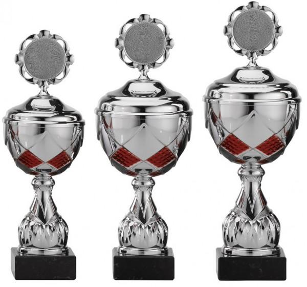 3er-Serie Pokale A4003 inkl. Gravur und Emblem