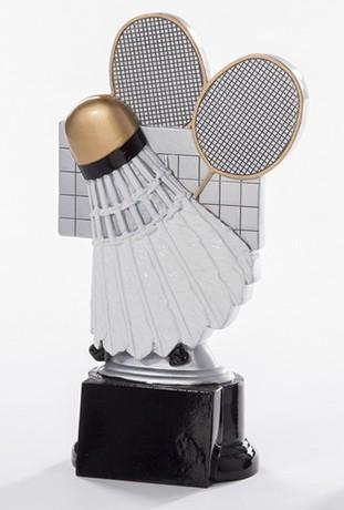 Badminton-Trophäe inkl.Gravur