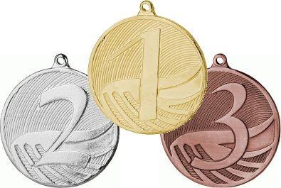 Medaille MD1 inkl. Band und Beschriftung