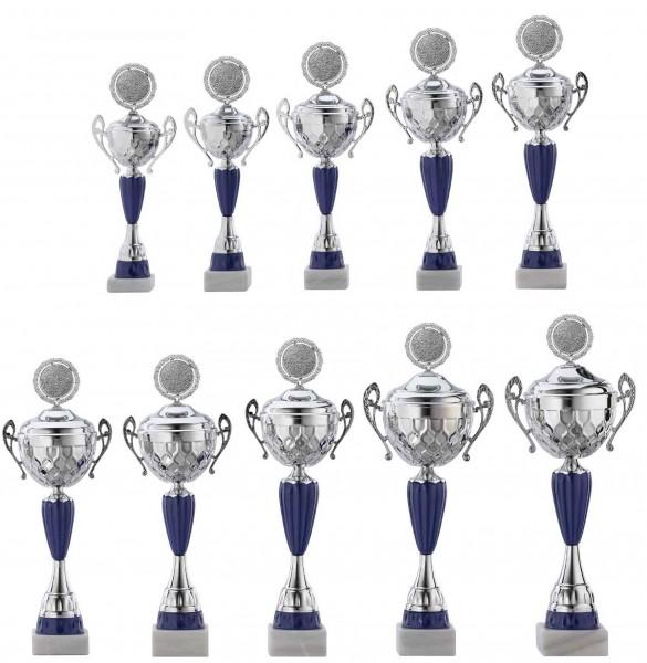 10er-Serie Pokale A4017 inkl. Gravur und Emblem