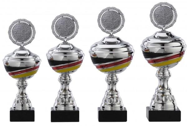 4er-Serie Pokale A1093 inkl. Gravur und Emblem